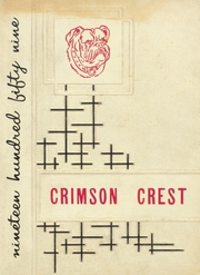 Page 1, 1959 Edition, Crestview High School - Crimson Crest Yearbook (Crestview, FL) online yearbook collection