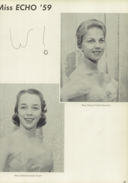 Page 91, 1959 Edition, Bartow High School - Summerlin Echo Yearbook (Bartow, FL) online yearbook collection