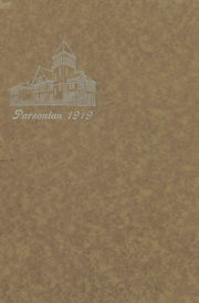 Page 1, 1919 Edition, Parsons High School - Norseman Yearbook (Parsons, KS) online yearbook collection
