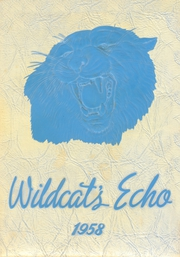 1958 Edition, Hardee High School - Wildcats Echo Yearbook (Wauchula, FL)