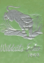 1959 Edition, Hardee High School - Wildcats Echo Yearbook (Wauchula, FL)