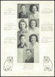 Page 17, 1947 Edition, Desoto County High School - Cornucopia Yearbook (Arcadia, FL) online yearbook collection