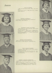 Page 16, 1957 Edition, Mulberry High School - Mulberry Tree Yearbook (Mulberry, FL) online yearbook collection