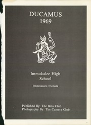 Page 5, 1969 Edition, Immokalee High School - Ducamus Yearbook (Immokalee, FL) online yearbook collection