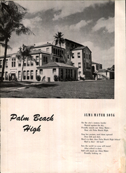 Page 8, 1944 Edition, Palm Beach High School - Royal Palm Yearbook (West Palm Beach, FL) online yearbook collection