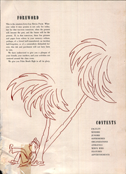 Page 9, 1944 Edition, Palm Beach High School - Royal Palm Yearbook (West Palm Beach, FL) online yearbook collection