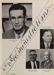 Page 11, 1952 Edition, Pahokee High School - Devils Trail Yearbook (Pahokee, FL) online yearbook collection