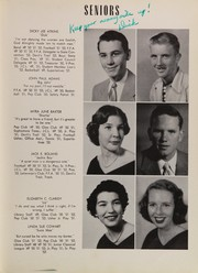 Page 17, 1952 Edition, Pahokee High School - Devils Trail Yearbook (Pahokee, FL) online yearbook collection