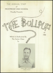 Page 5, 1950 Edition, Frostproof High School - Bullpup Yearbook (Frostproof, FL) online yearbook collection