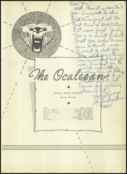 Page 7, 1952 Edition, Ocala High School - Ocaleean Yearbook (Ocala, FL) online yearbook collection