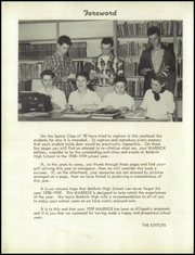 Page 6, 1959 Edition, Baldwin High School - Warrior Yearbook (Baldwin, FL) online yearbook collection