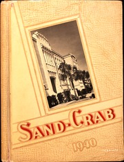 1940 Edition, Seabreeze High School - Sandcrab Yearbook (Daytona Beach, FL)