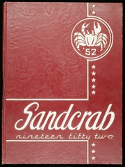 1952 Edition, Seabreeze High School - Sandcrab Yearbook (Daytona Beach, FL)