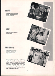 Page 11, 1954 Edition, Seabreeze High School - Sandcrab Yearbook (Daytona Beach, FL) online yearbook collection