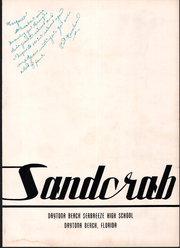 Page 7, 1954 Edition, Seabreeze High School - Sandcrab Yearbook (Daytona Beach, FL) online yearbook collection