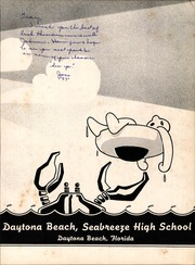 Page 7, 1957 Edition, Seabreeze High School - Sandcrab Yearbook (Daytona Beach, FL) online yearbook collection