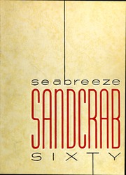 1960 Edition, Seabreeze High School - Sandcrab Yearbook (Daytona Beach, FL)