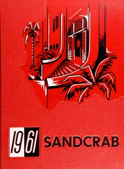 1961 Edition, Seabreeze High School - Sandcrab Yearbook (Daytona Beach, FL)