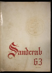 1963 Edition, Seabreeze High School - Sandcrab Yearbook (Daytona Beach, FL)