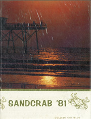 1981 Edition, Seabreeze High School - Sandcrab Yearbook (Daytona Beach, FL)