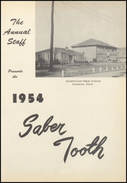 Page 5, 1954 Edition, Blountstown High School - Saber Tooth Yearbook (Blountstown, FL) online yearbook collection