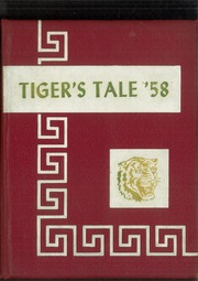 1958 Edition, Graceville High School - Tigers Tale Yearbook (Graceville, FL)