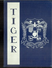1966 Edition, Jesuit High School - Tiger Yearbook (Tampa, FL)