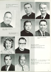 Page 15, 1966 Edition, Jesuit High School - Tiger Yearbook (Tampa, FL) online yearbook collection