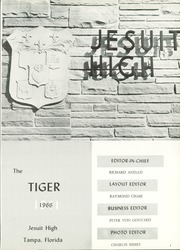 Page 5, 1966 Edition, Jesuit High School - Tiger Yearbook (Tampa, FL) online yearbook collection