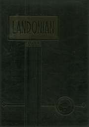 Landon High School - Landonian Yearbook (Jacksonville, FL) online yearbook collection, 1938 Edition, Page 1