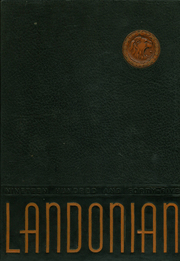 1945 Edition, Landon High School - Landonian Yearbook (Jacksonville, FL)