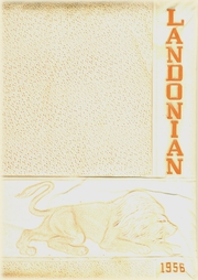 Page 1, 1956 Edition, Landon High School - Landonian Yearbook (Jacksonville, FL) online yearbook collection