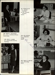 Page 12, 1966 Edition, Crescent City High School - Crescent Yearbook (Crescent City, FL) online yearbook collection
