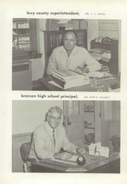 Page 9, 1960 Edition, Bronson High School - Eagle Yearbook (Bronson, FL) online yearbook collection