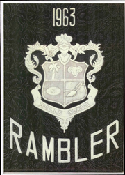 1963 Edition, Belle Glade High School - Rambler Yearbook (Belle Glade, FL)