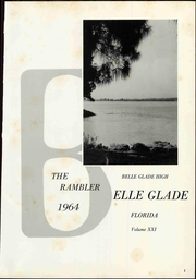 Page 7, 1964 Edition, Belle Glade High School - Rambler Yearbook (Belle Glade, FL) online yearbook collection