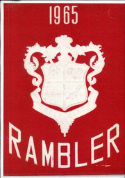 1965 Edition, Belle Glade High School - Rambler Yearbook (Belle Glade, FL)