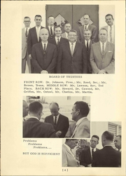 Page 12, 1963 Edition, Miami Christian School - Victor Yearbook (Miami, FL) online yearbook collection