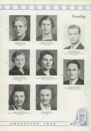 Page 11, 1942 Edition, Tunkhannock High School - Awanatunk Yearbook (Tunkhannock, PA) online yearbook collection