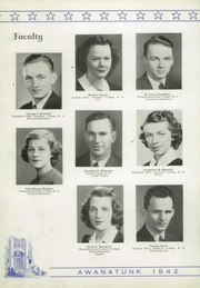 Page 12, 1942 Edition, Tunkhannock High School - Awanatunk Yearbook (Tunkhannock, PA) online yearbook collection