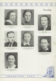 Page 13, 1942 Edition, Tunkhannock High School - Awanatunk Yearbook (Tunkhannock, PA) online yearbook collection
