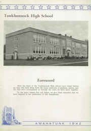 Page 8, 1942 Edition, Tunkhannock High School - Awanatunk Yearbook (Tunkhannock, PA) online yearbook collection