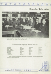 Page 9, 1942 Edition, Tunkhannock High School - Awanatunk Yearbook (Tunkhannock, PA) online yearbook collection