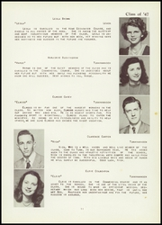 Page 15, 1947 Edition, Tunkhannock High School - Awanatunk Yearbook (Tunkhannock, PA) online yearbook collection