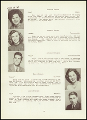 Page 16, 1947 Edition, Tunkhannock High School - Awanatunk Yearbook (Tunkhannock, PA) online yearbook collection