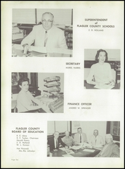 Page 14, 1960 Edition, Bunnell High School - Pinea Yearbook (Bunnell, FL) online yearbook collection