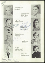 Page 13, 1958 Edition, Bushnell High School - Gator Yearbook (Bushnell, FL) online yearbook collection