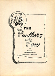 Page 7, 1952 Edition, Crawfordville High School - Panther Yearbook (Crawfordville, FL) online yearbook collection