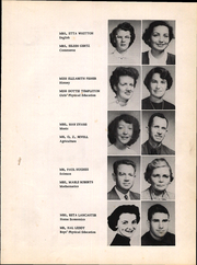 Page 11, 1954 Edition, Crawfordville High School - Panther Yearbook (Crawfordville, FL) online yearbook collection