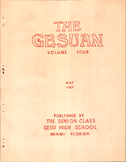 Page 7, 1937 Edition, Gesu High School - Gesuan Yearbook (Miami, FL) online yearbook collection